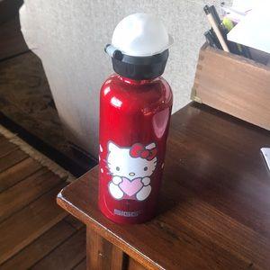 Hello Kitty Sigg aluminum water bottle